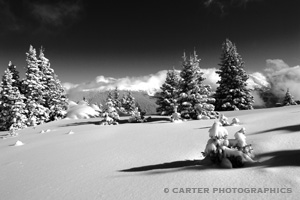 Photo from Berthoud Pass outside of Winter Park, Colorado taken by Carter Photographics
