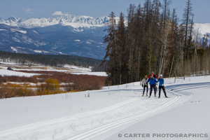 Photo of Cross Country Skiing at the YMCA of the Rockies, taken by Carter Photographics